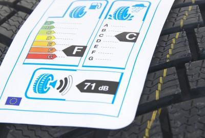 Reifen Etiketten für EU