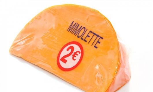Käse Etikette in Lebensmittel Bereich