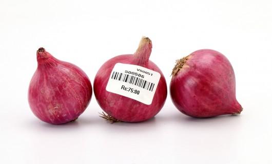 Lebensmittel Etikette für Gemüse