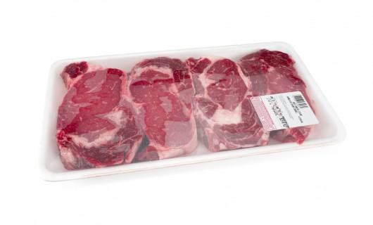 Fleisch Etikette