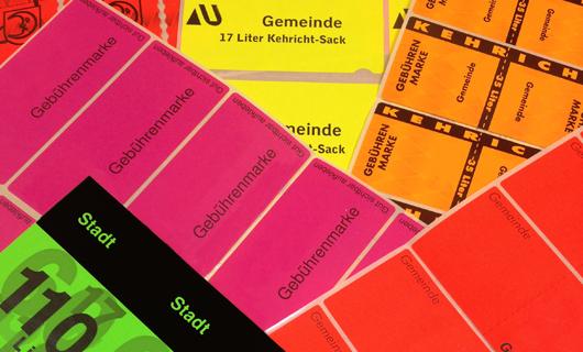 Vignette Container Etikette