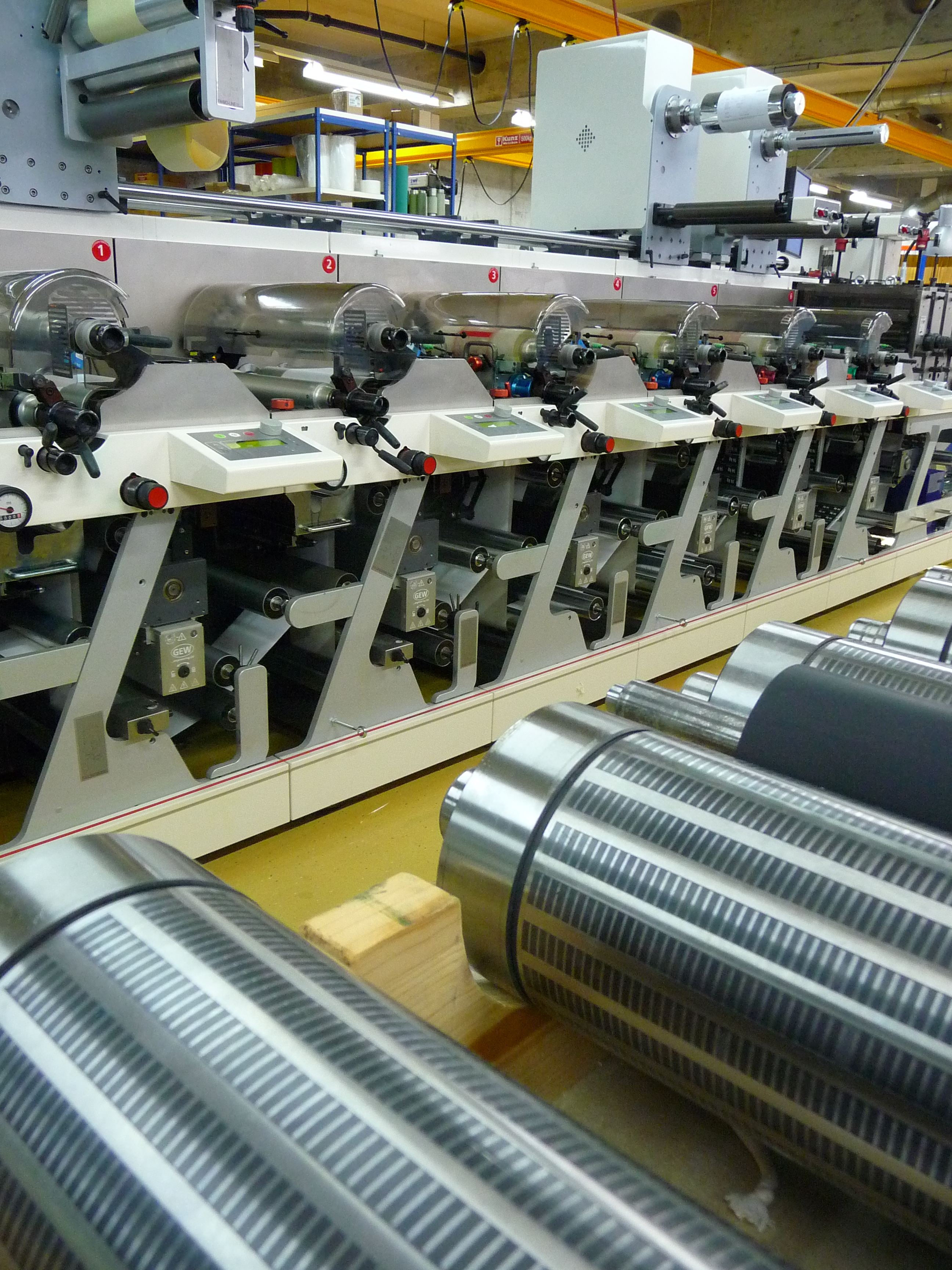 Etiketten Fabrik, Etiketten Druckerei