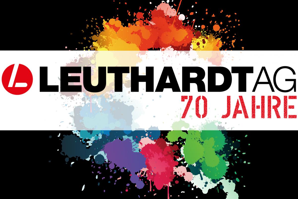 Logo Leuthardt 70 Jahre