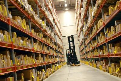 Logistik Etikette Lager Etikette