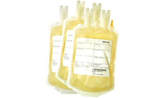 Blutbeutel Etikette pharma Etikette