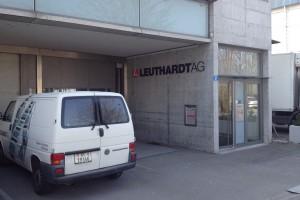 Leuthardt AG Gebäude in Basel, Etiketten Druckerei